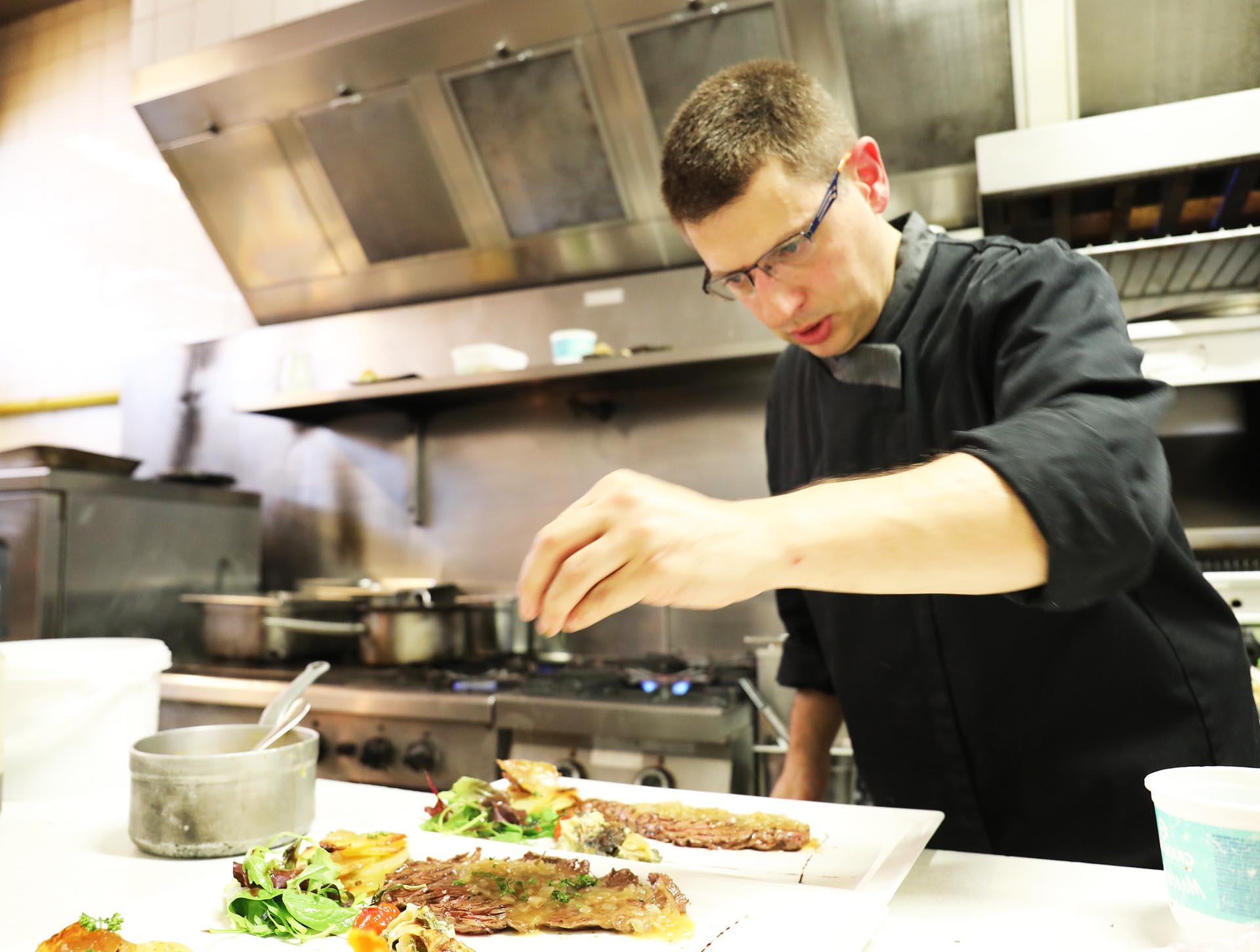Nicolas Katis Maitre restaurateur la coupe d'or lisieux restaurant calvados normandie
